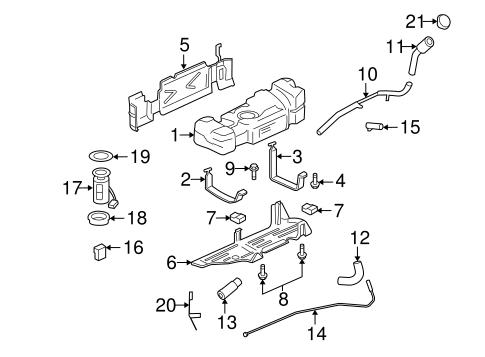 emission components for 2008 chevrolet trailblazer | gmpartsdirect.com  gm parts direct