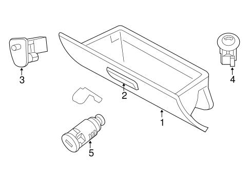 Instrument Panel For 2005 Dodge Magnum Parts