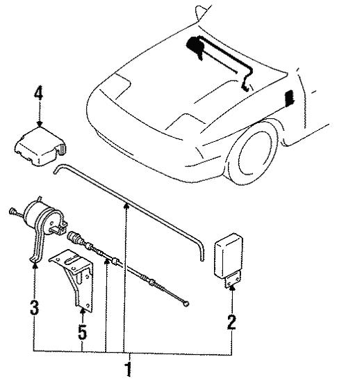 Cruise Control System For 1991 Mazda Rx 7 Realmazdaparts Com
