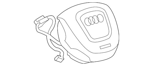 2012 2015 audi driver air bag 4g0 880 201 aa az3 xportauto 2003 Audi A6 driver air bag audi 4g0 880 201 aa az3
