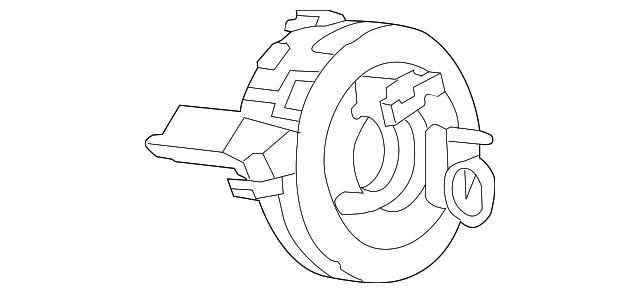 2012 2015 Audi Clock Spring 4g0 953 568 A