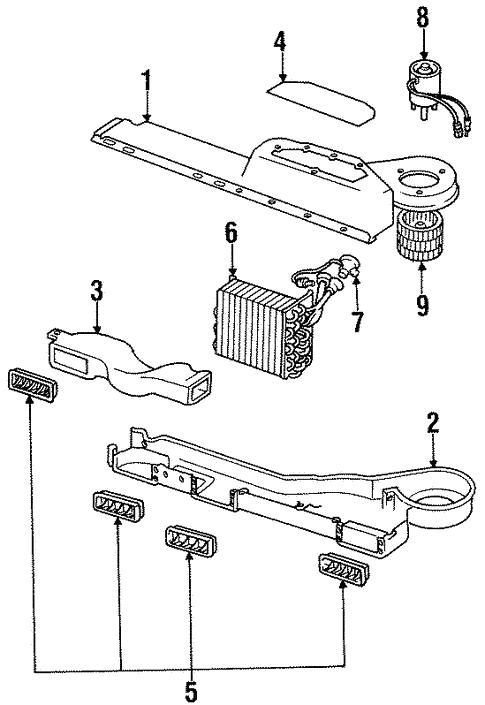 Condenser, Compressor & Lines for 1988 Jeep J10 | Mopar