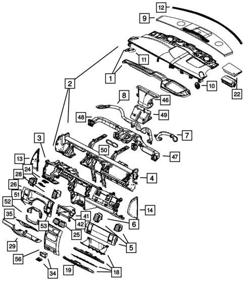 Instrument Panel For 2006 Dodge Durango