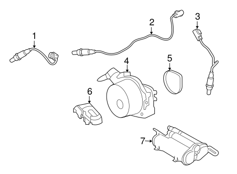 Emission Components For 2016 Land Rover Lr4
