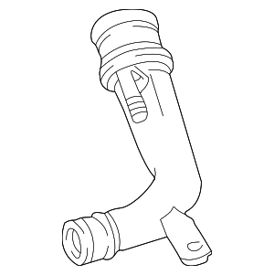 Filler Pipe - Mercedes-Benz (202-470-11-89)