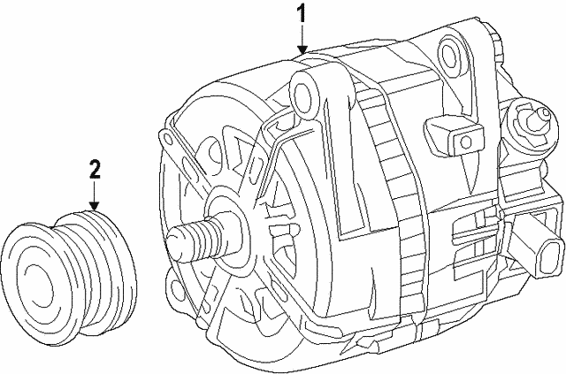 Alternator - Lexus (27060-0P370)