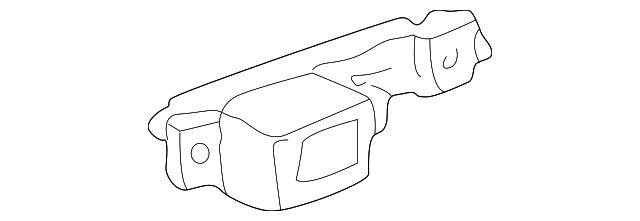 Genuine Acura 81334-S0K-A73 OPDS Unit