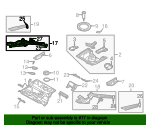 Side Rail Assembly - Audi (4Z7-803-402-B)