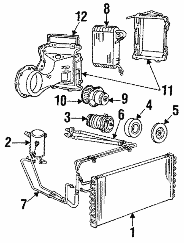 1984 1993 Gm Clutch Plate Hub Assembly 5914719
