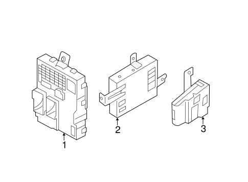 Sonata Electricalkeyless Entry Components Parts