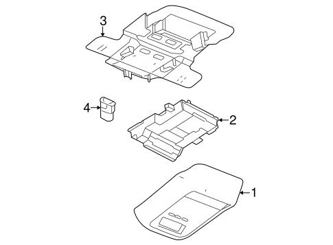 overhead console for 2005 mercury grand marquis. Black Bedroom Furniture Sets. Home Design Ideas