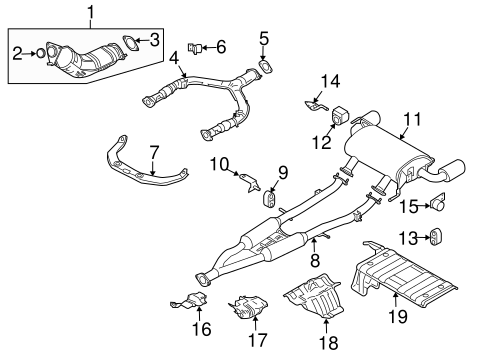 exhaust components for 2008 infiniti ex35 lia parts 2008 BMW X5 Engine Diagram exhaust system exhaust components for 2008 infiniti ex35