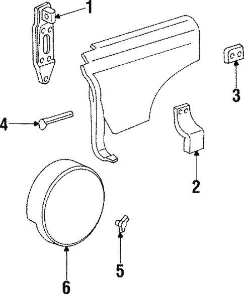 Carrier Components For 2001 Jeep Cherokee