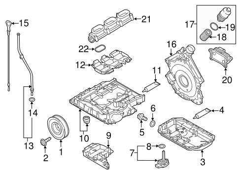Engine Parts For 2018 Audi Q7