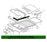 Guide Rail - Mercedes-Benz (202-780-02-58)