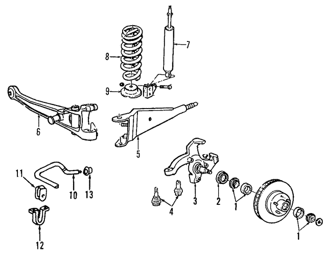 Ball Joints - Ford (5C2Z-3050-B)