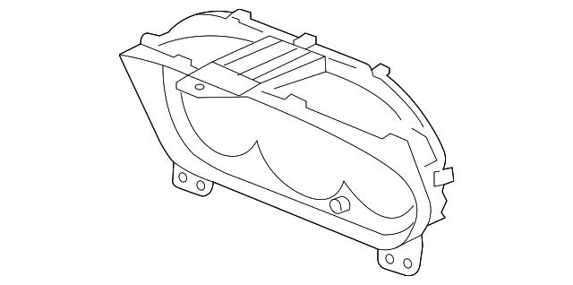2002 2005 Honda Civic Hatchback Visor 78155 S6a Q01