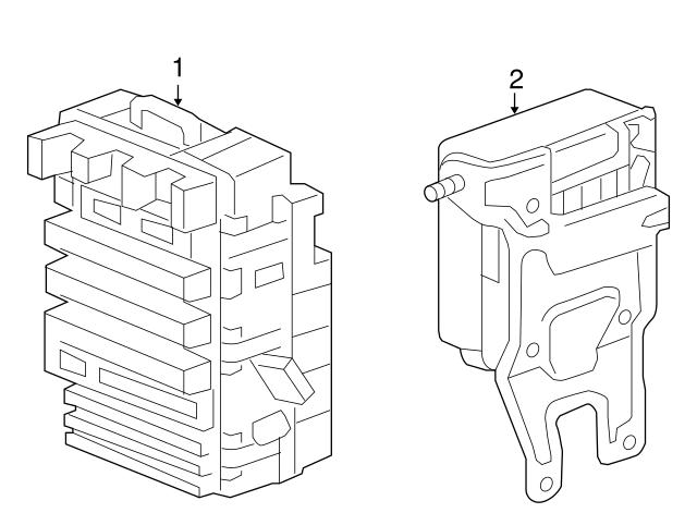 Genuine Honda 38200-SNA-A15 Fuse Box Assembly
