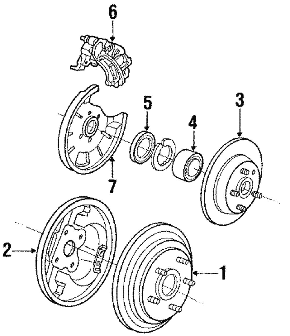 tire diagram of drum best wiring library Buick Finned Aluminum Brake Drums genuine ford brake drum ys8z 1v126 ba