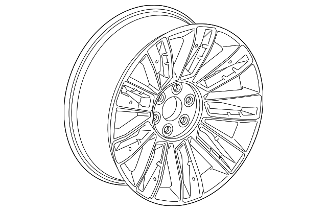 Wheel Alloy Replaced By Part Number 84588749