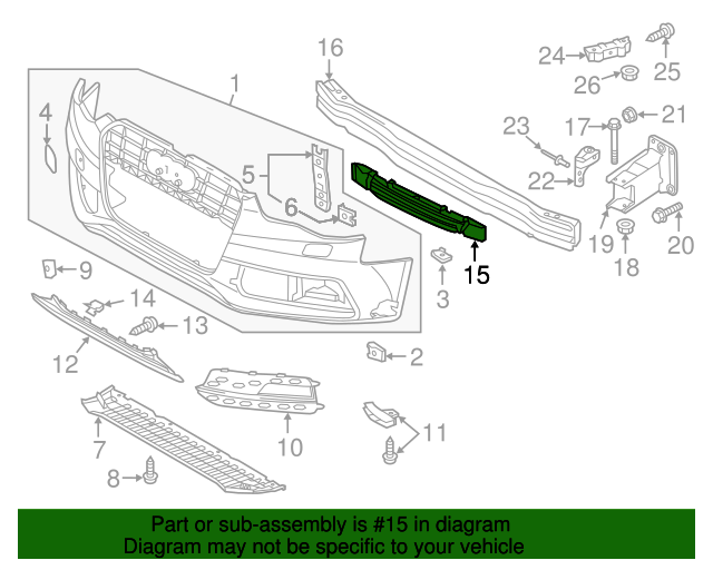 Audi 8T0-807-283-CGUIDE#26 On Picture