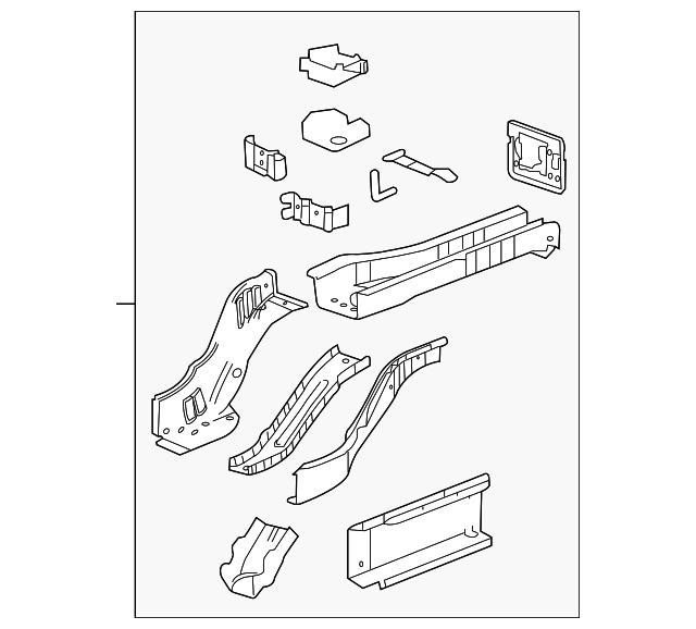 rear rail assembly