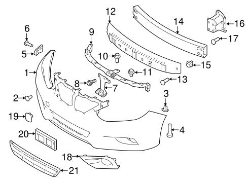 bumper \u0026 components front for 2016 nissan altima tascaparts combody bumper \u0026 components front for 2016 nissan altima 1