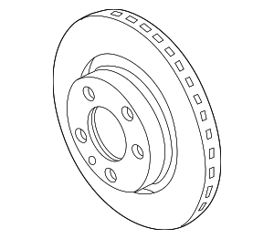 Rotor - Volkswagen (3A0-615-301-A)