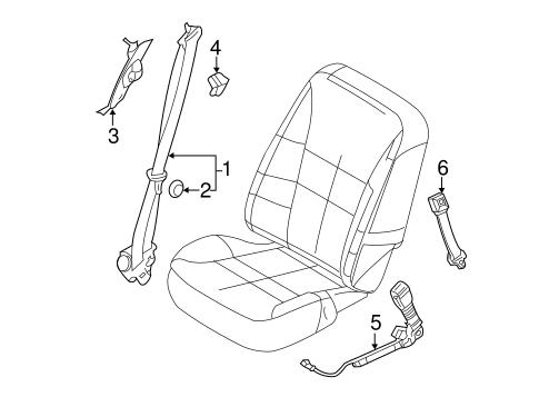 2011 Ford Edge Parts Diagram