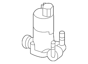 Washer Pump - Ford (CV6Z-17664-B)