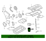 Oil Filter - Volkswagen (06A-115-561-B)