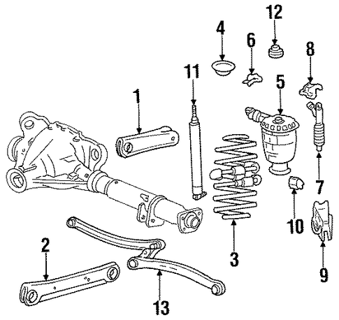 Showthread likewise Rear Suspension Scat as well Cadillac Xts Engine Diagram 2000 furthermore Differential Scat in addition Bushing And Bearings. on silver grand marquis