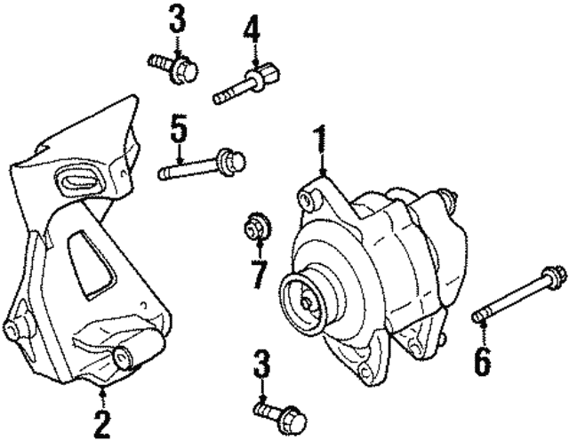 Alternator - Mopar (4609415)