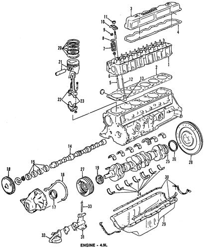 95 ford f 150 4 9 engine diagram 1996 ford f 150 4 9 engine diagram engine for 1996 ford f-150 #3