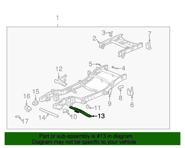 Trans Cross-Member - GM (15057773) | GMPartsDirect.comGM Parts Direct