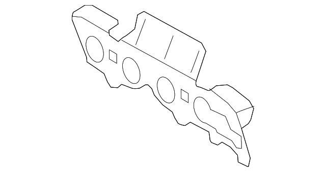 Mazda ZZCA-13-462 Exhaust Manifold Gasket