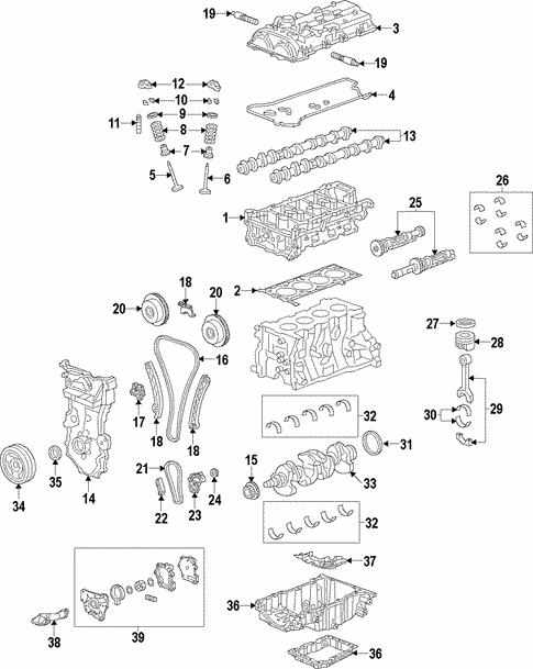 Engine for 2017 Chevrolet Malibu | GM Parts CenterGM Parts Center