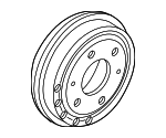 Brake Drum - Mopar (68269703AA)