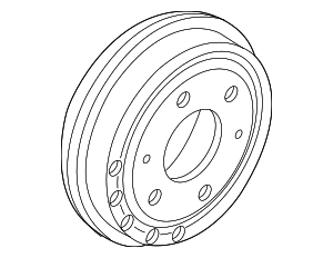 Brake Drum - Mopar (68317238AA)