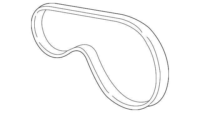 2003 2009 Gm Serpentine Belt 12576446
