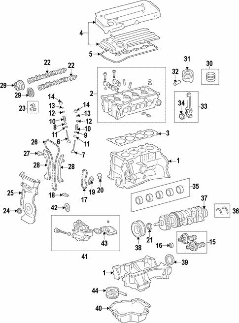 oem 2009 pontiac vibe engine parts gmpartsonline net Pontiac Grand AM Parts Diagram engine engine for 2009 pontiac vibe 1