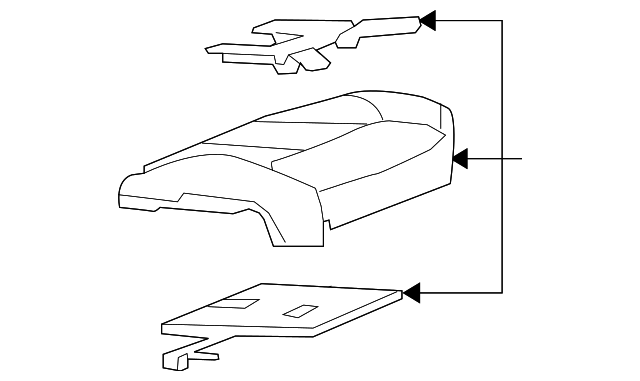 2006 2011 Cadillac Dts Occupant Module 25886107