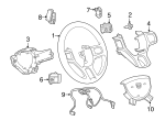 Steering Wheel - Mopar (5NN16DX9AA)