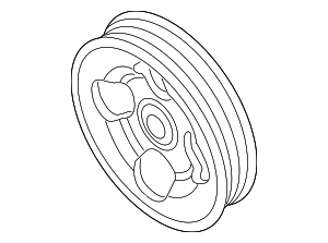 Pulley - Nissan (49132-1BY0A)