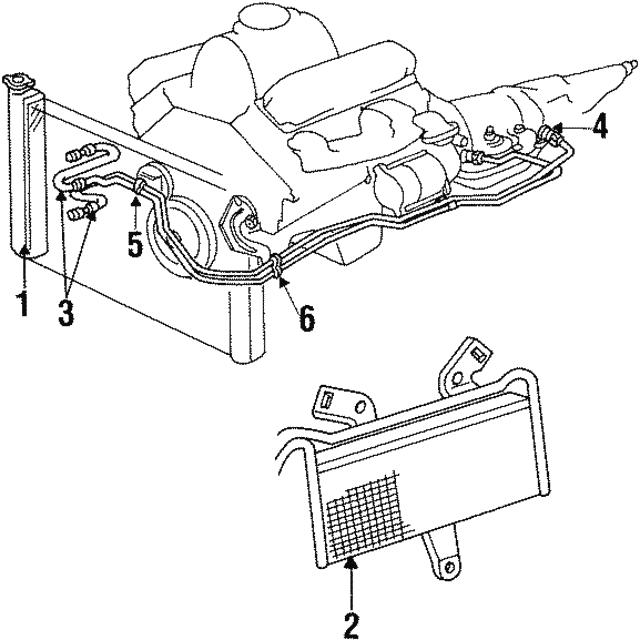 1994 2002 Dodge Hose Tube Assembly 4863830ad