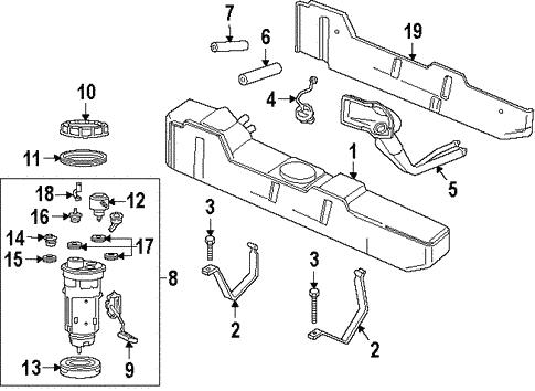 Fuel System Components for 1997 Dodge Ram 1500 | Mopar Parts