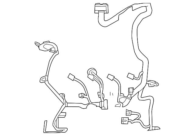 Ford Escapemercury Marinerhybrid Engine Wiring Harness