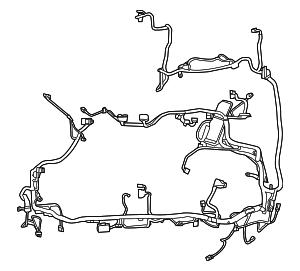 2011 2012 ford escape wire harness bm6z 14290 v elder. Black Bedroom Furniture Sets. Home Design Ideas
