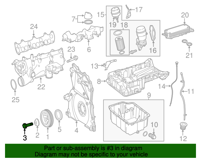 Vibration damper bolt mercedes benz 000000 005724 for Mercedes benz parts online shop