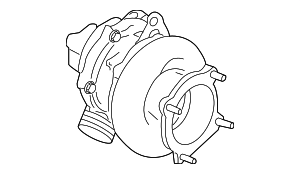 Turbocharger - Porsche (997-123-014-CX)